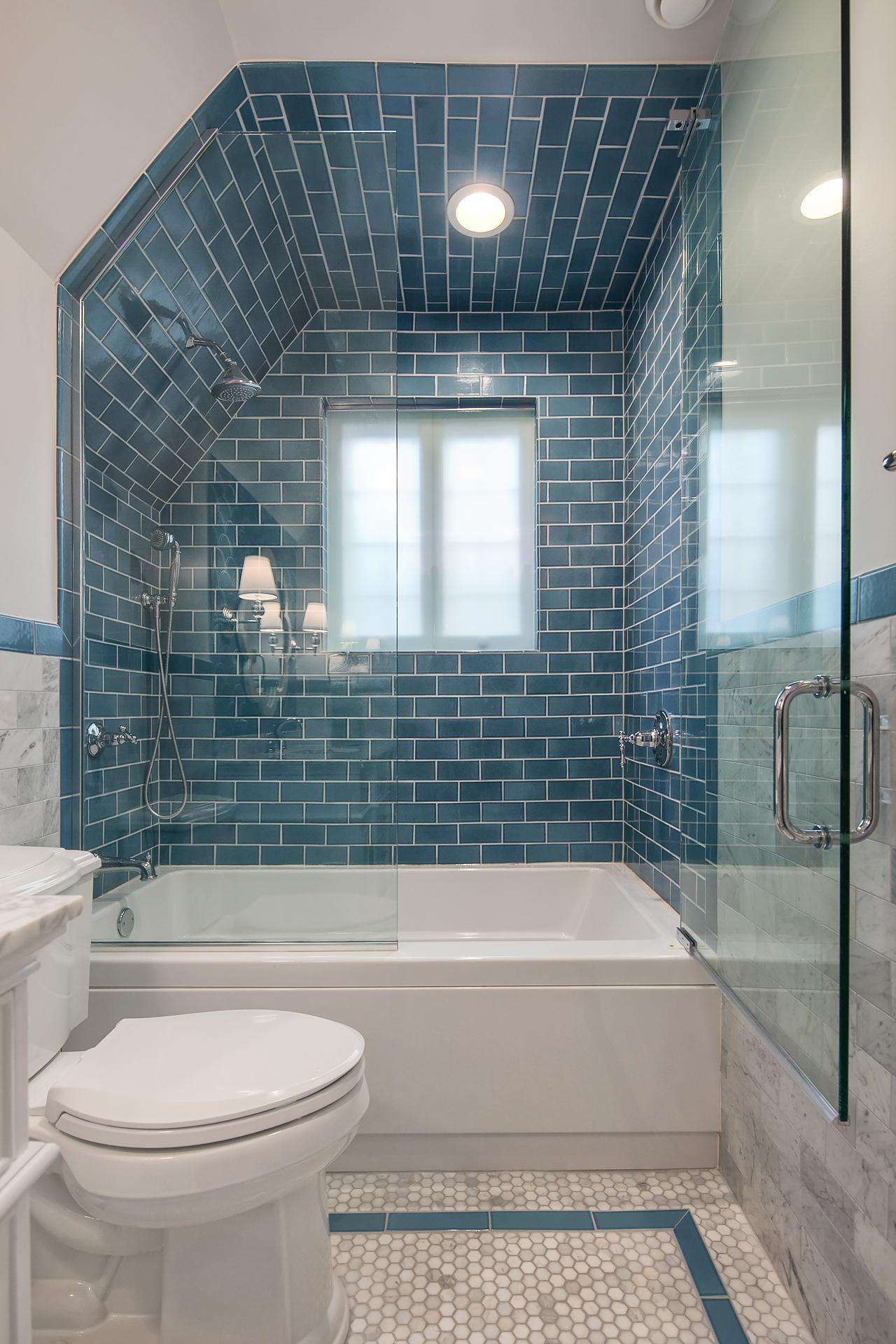 Bathroom Wall Tiles How High Should They Go Fireclay Tile