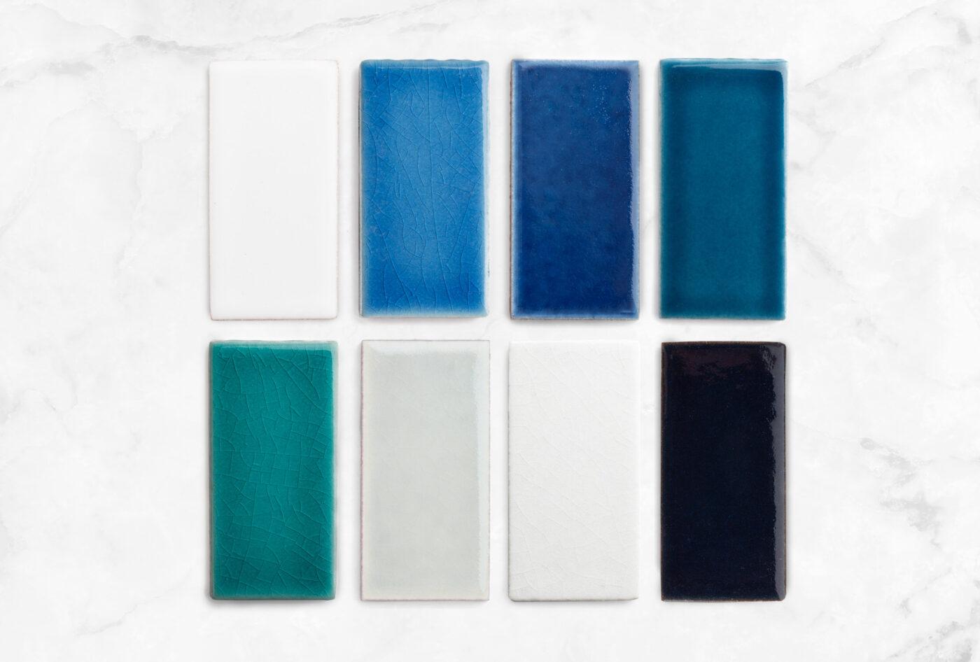 2020 Q4 Bright Bazaar Spotlight White Wash Aegean Sea Lake Tahoe Adriatic Sea Naples Blue Mist Frost Navy Blue