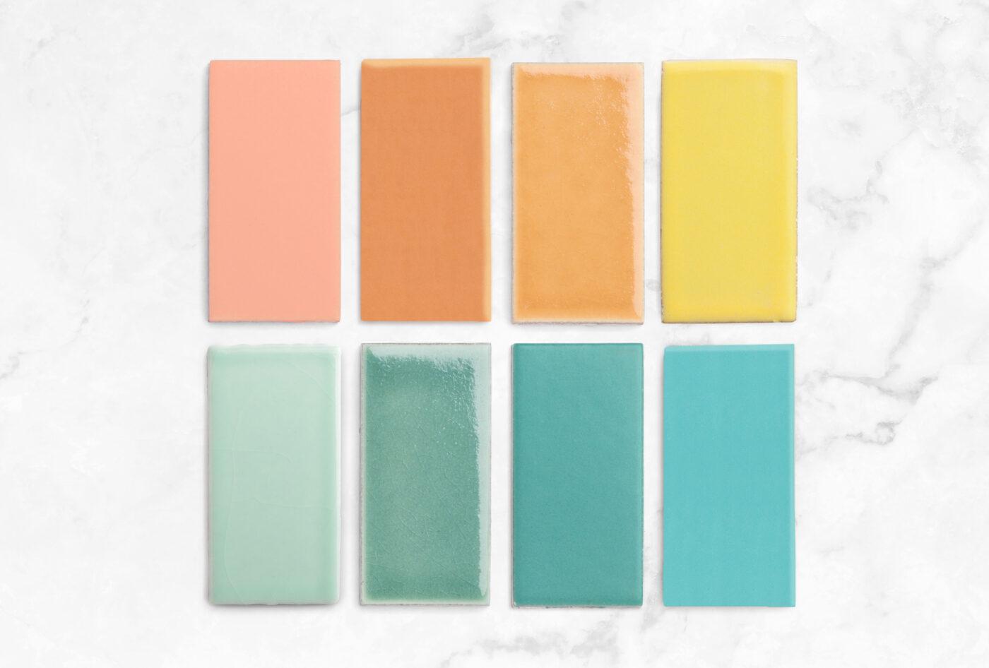 2020 Q4 Rainbow Bath Spotlight Sample Pack Desert Bloom Sorbet Koi Lemon Cream Glacier Bay Amalfi Coast Neptune Turquoise