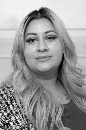 2019 Q2 Photo Team Headshot Black And White Alejandra Morales