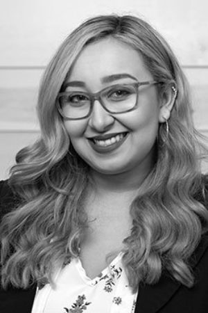 2019 Q2 Photo Team Headshot Black And White Julie Fernandez
