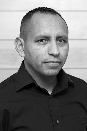 2019 Q2 Photo Team Headshot Black And White Andres Garcia