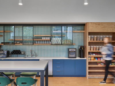 Custom Color Ceramic Tile Office Kitchen