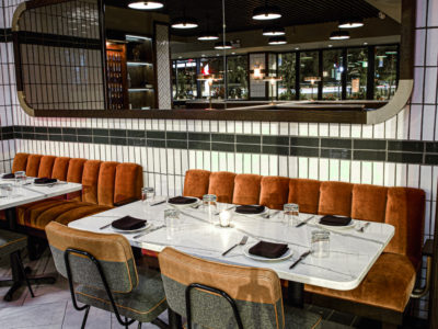 The Kennison Restaurant: Glazed Thin Brick