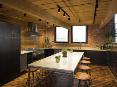 Printfresh Studio Thin Brick Kitchen