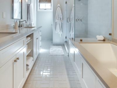 Foundations: Parquet Bathroom Floor Tiles