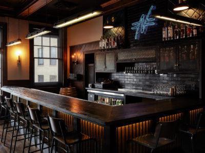 Northbound Restaurant: Glazed Thin Brick Bar