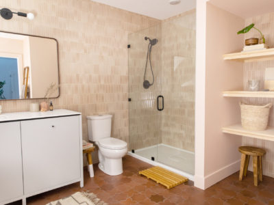 The Fresh Exchange: Basement Bathroom