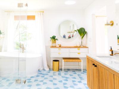 Sugar & Cloth: Master Bath Remodel