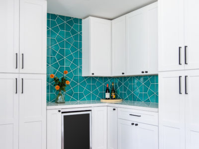Naples Blue Backsplash