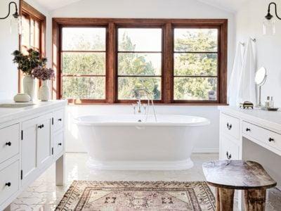 Katie Hodges Design: Patterned Bathroom Floor Tiles