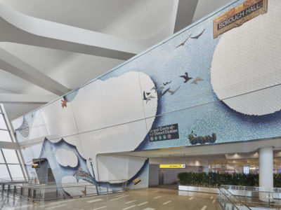 LaGuardia Airport: Terminal B Mosaic Tiles