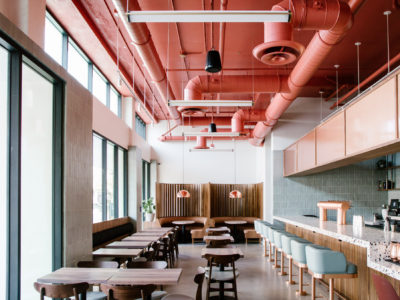 The Salted Pig Restaurant: Glazed Thin Brick