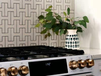 Interlocking Handmade Backsplash Tile with High Impact