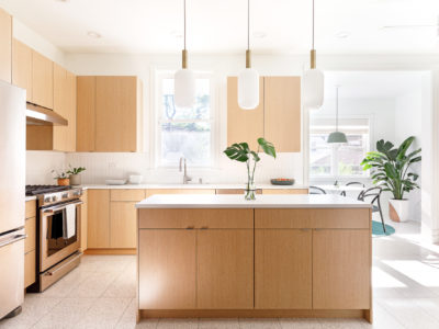 The Sunlit House: Quick Ship Backsplash in Calcite
