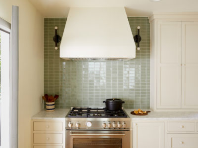 Earthy Green Kitchen Tiles