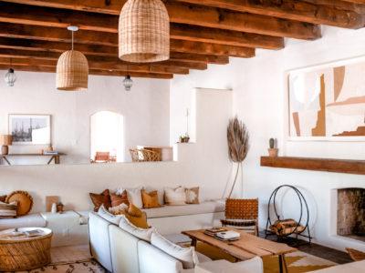 Posada Inn: Star and Cross Floor Tile