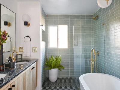A Vintage Splendor: Master Bathroom Tiles Reveal