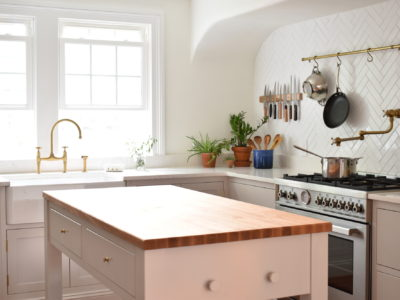 Quick Ship Herringbone Kitchen
