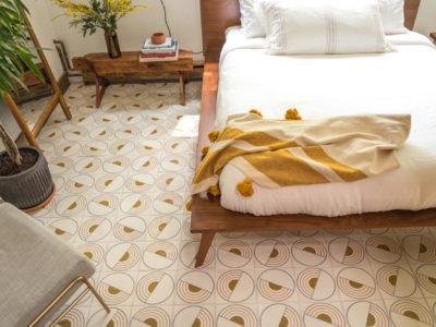 The Hunter Houses: Handmade Tile Floor