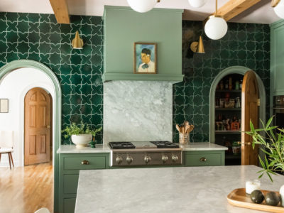 Rebecca Gibbs Design: Evergreen Star and Cross Kitchen