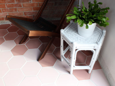 Desert Collection Ombre Sunroom Floor