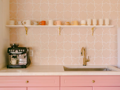 A Beautiful Mess: Tiled Coffee Corner by Elsie Larson