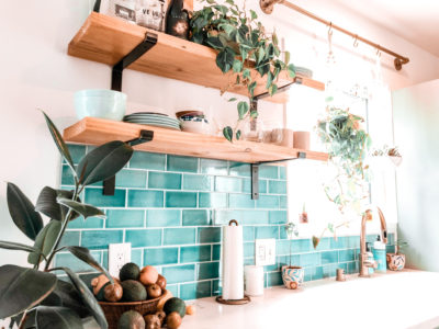 DIY Cartel: Amalfi Coast Subway Tile Kitchen