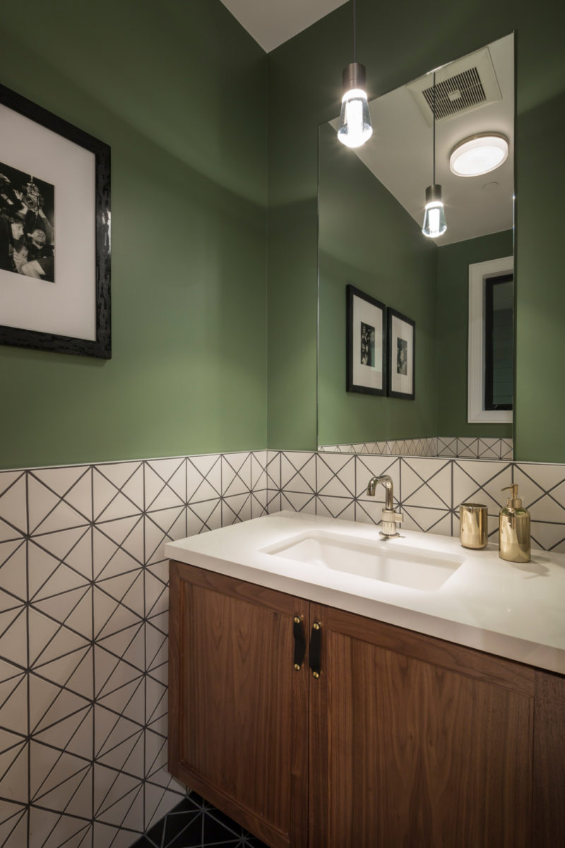 Black And White Tile Bathroom By Noz Design Fireclay Tile
