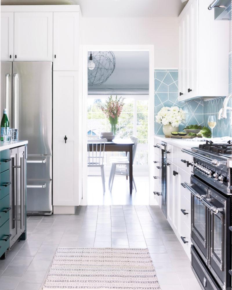 Orlando Soria S Family Kitchen Reveal Fireclay Tile