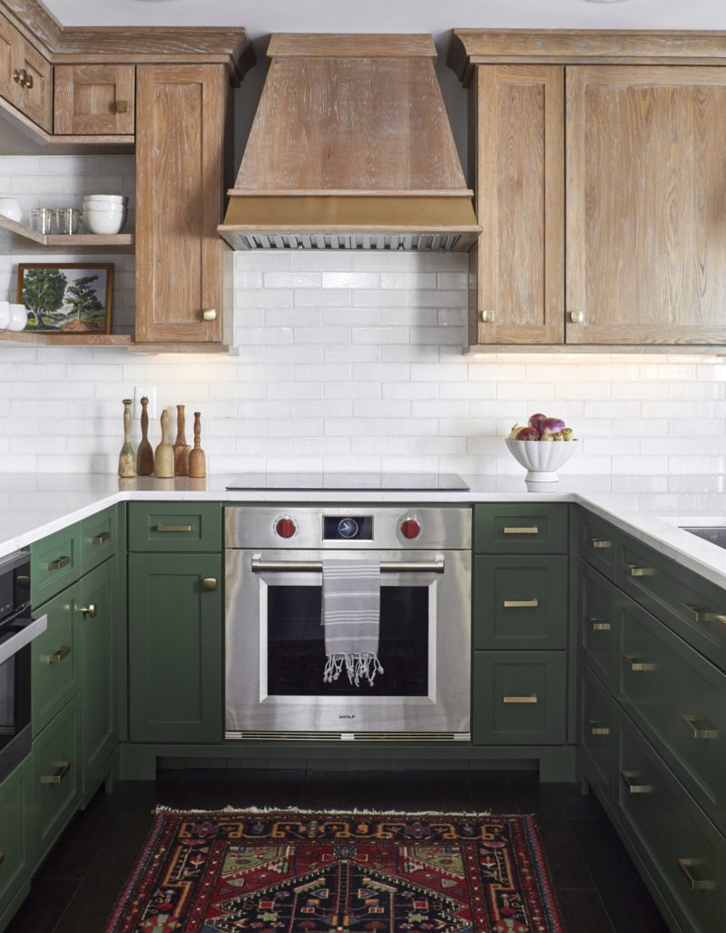 - Classic Thin Brick Backsplash For Lake House Kitchen Fireclay Tile