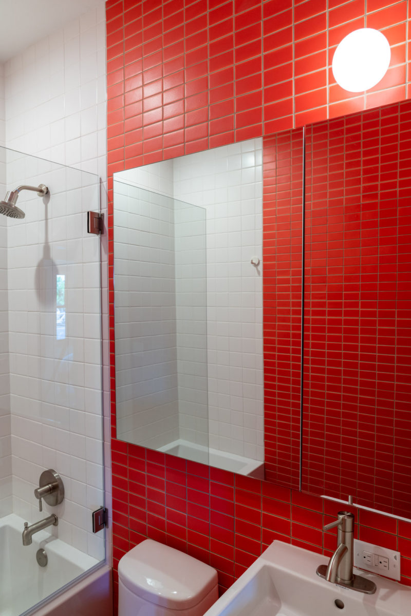 Mesolite Bathroom Fireclay Tile