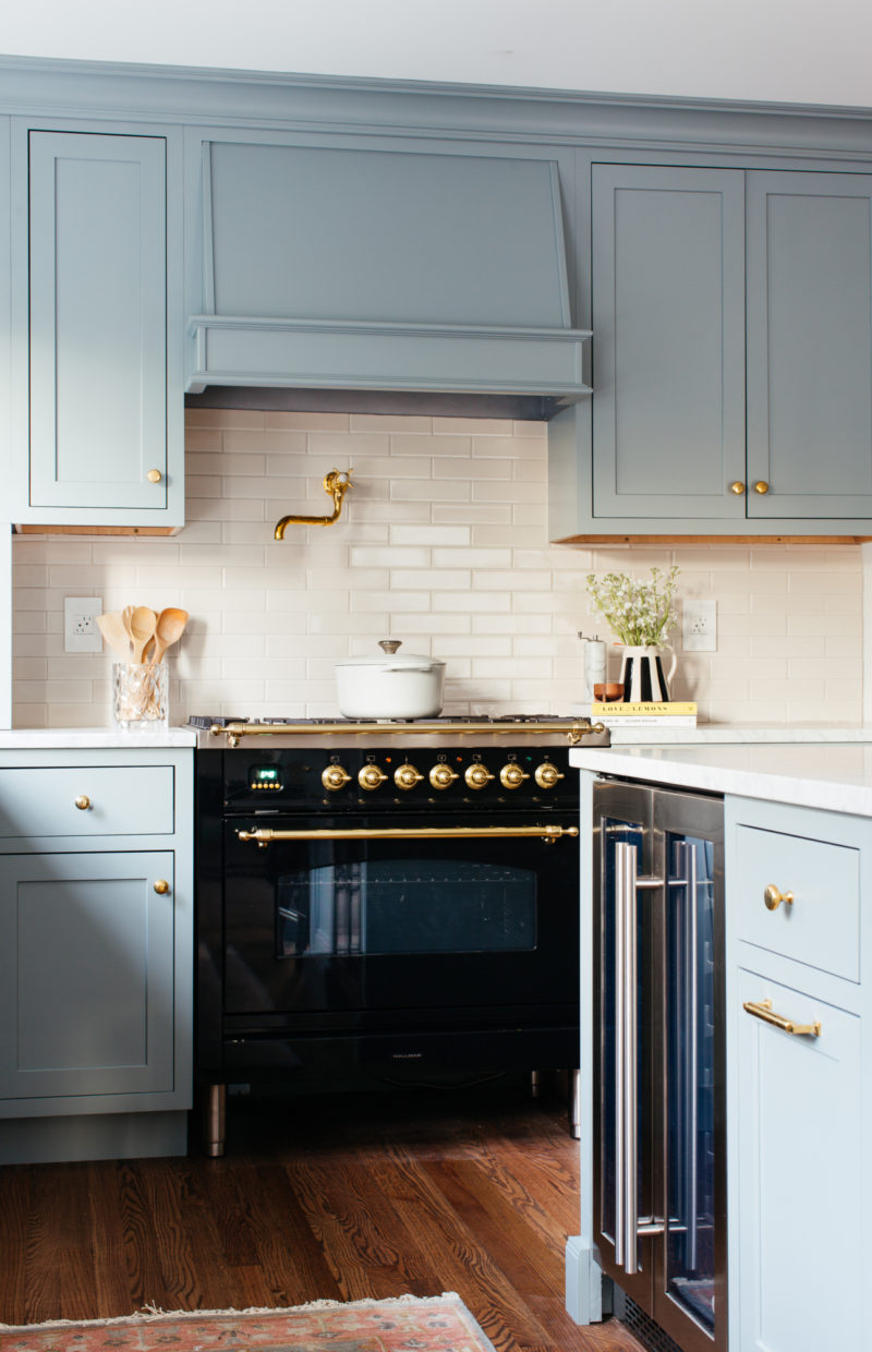 One Room Challenge Shell Kitchen Fireclay Tile