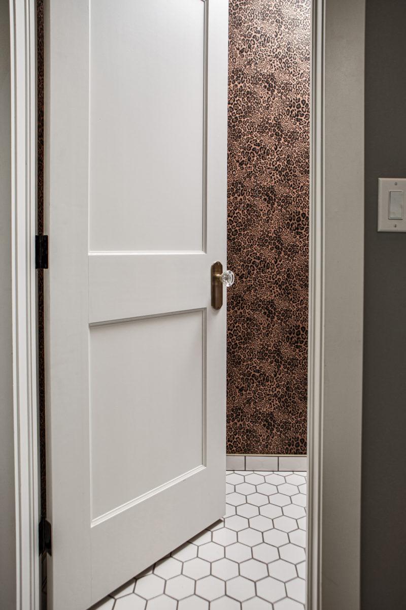 Hexagon Floor Tile Bathroom in Classic White   Fireclay Tile