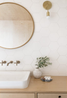 Sarah Sherman Samuel: A-frame Bathroom Reveal