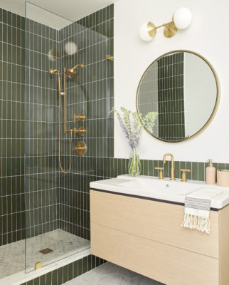 Banner Day Interiors: Brooklyn Bathroom