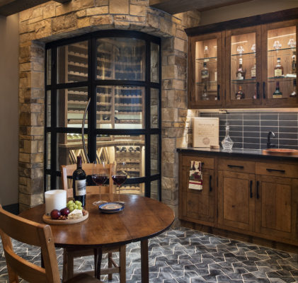Black Hills Brick Wine Cellar
