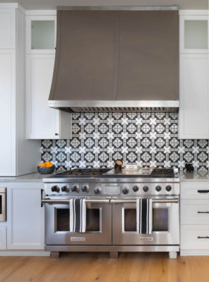 Black and White Kasbah Kitchen