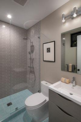 Noz Design: Modern Mosaic Bathroom Floor Tiles
