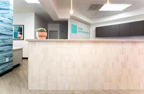 Dunn Orthodontics: Handmade Tiles for Reception