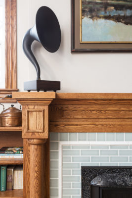 Classic Craftsman Fireplace Tiles