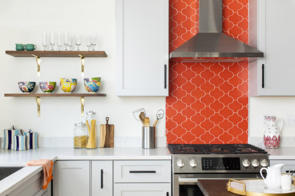 Patterned Kitchen Tiles that Pop