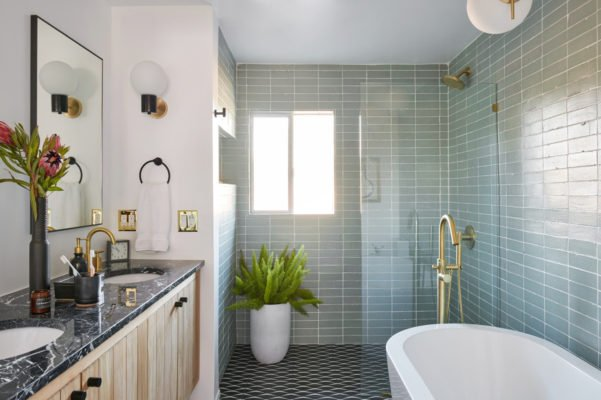 A Vintage Splendor: Master Bathroom Tiles Reveal