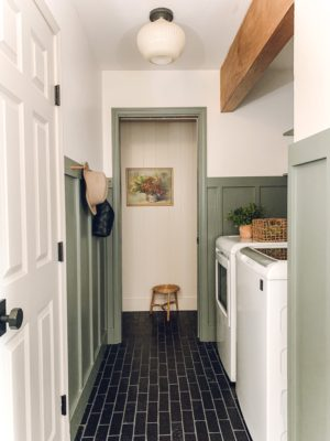 Valeria Jacobs: Quick Ship Black Thin Brick Floor