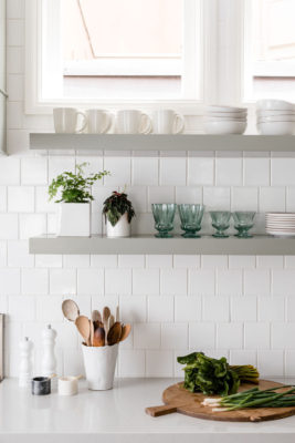 Caitlin Flemming: 4x4 White Kitchen Tiles