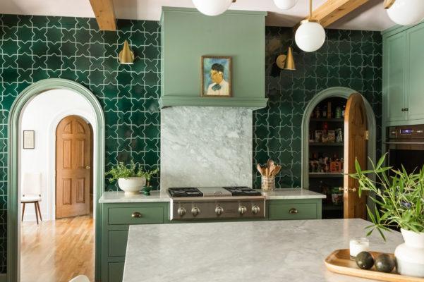Rebecca Gibbs Design: Evergreen Star and Cross Kitchen