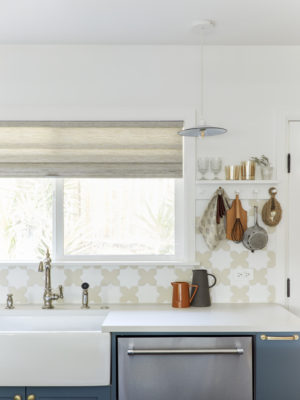 Velinda Hellen: Star & Cross Patterned Kitchen Tiles
