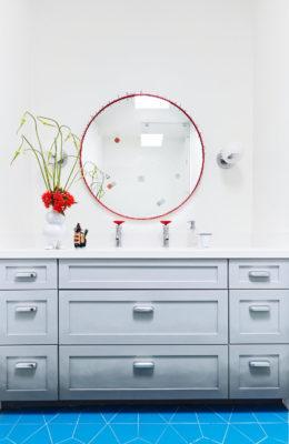 Noz Design: Patterned Bathroom Floor Tiles