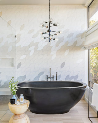 Nest Design Co.: Blended Bathroom Wall Tiles