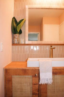 Naturally Neutral Bathroom Tiles